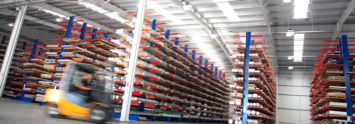 metalweb warehouse stock