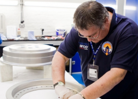 metalweb helps Supersonic Car stay on the right track